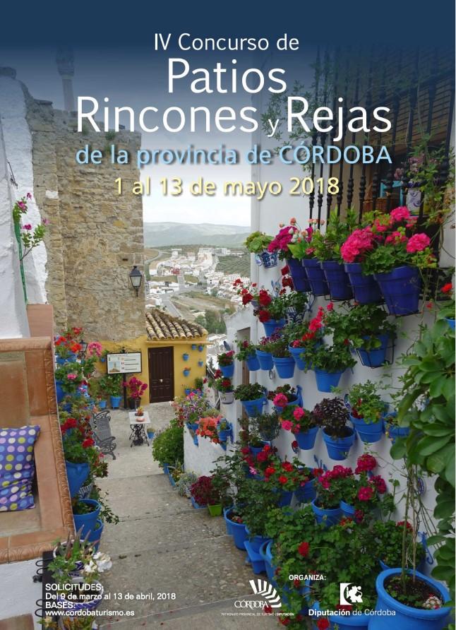 Iv Concurso De Patios Rincones Y Rejas De La Provincia De Cordoba