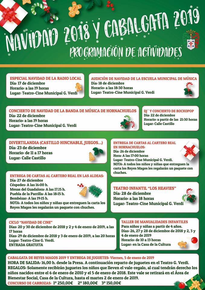 Programacion Navidad 2018 Cabalgata De Reyes 2019 Ayuntamiento De