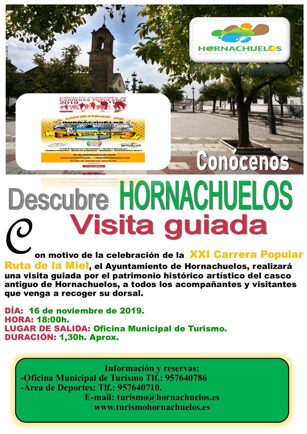 Cartel Ruta Guiada XXI Ruta de la Miel.
