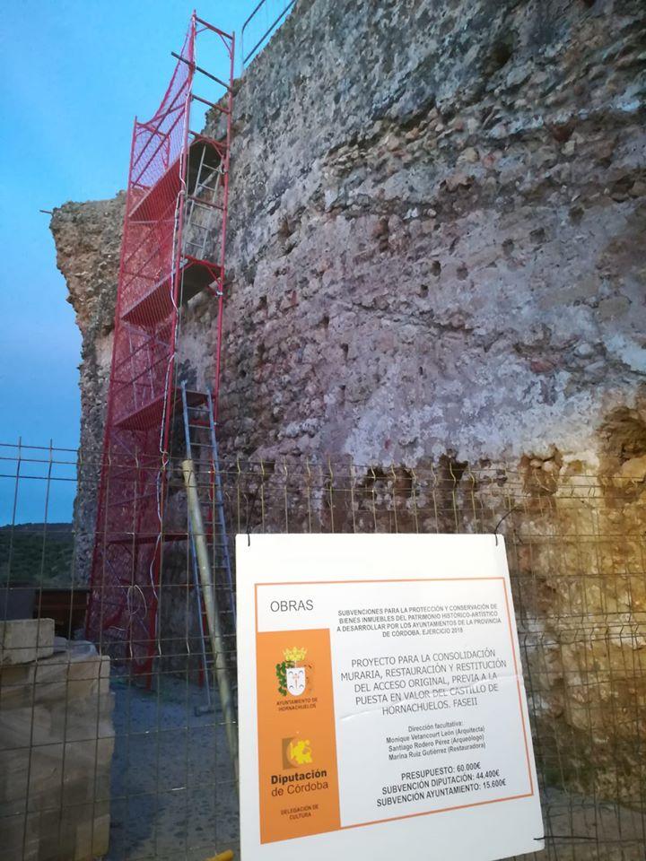 Restauración Castillo de Hornachuelos.