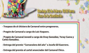 Cartel de Carnaval Hornachuelos 2020