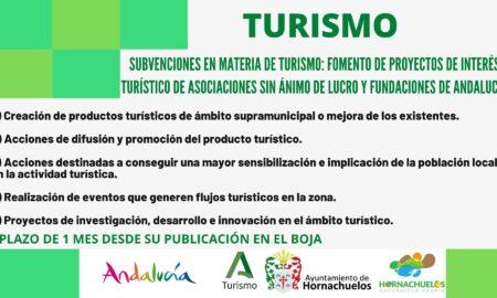 Cartel Subvencion Asociacionesb Turismo