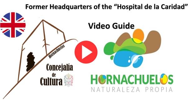 Logo Ingles Video Guía Hospital de la Caridad