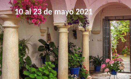 Cartel VI Concurso de Patios, Rincones y Rejas de la Provincia de Córdoba.
