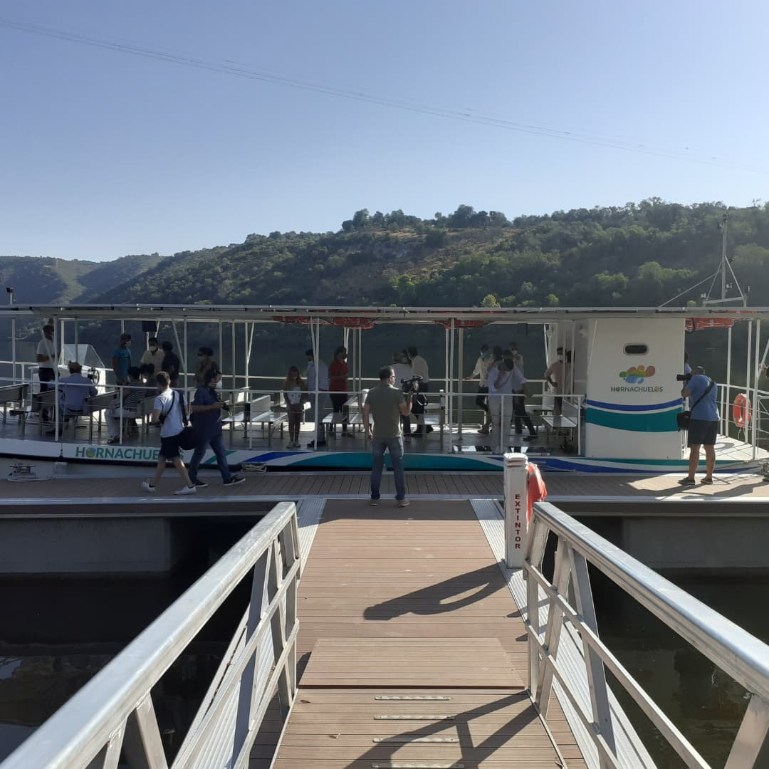 Barco solar de Hornachuelos