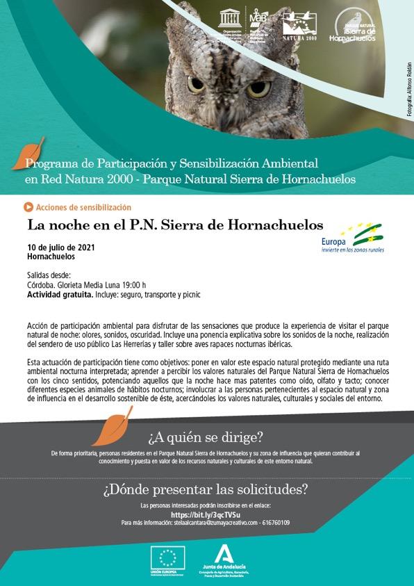 cartel noche hornachuelos 10 julio 21