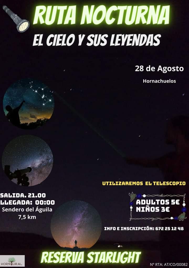 Ruta Noturna El cielo y sus leyendas.