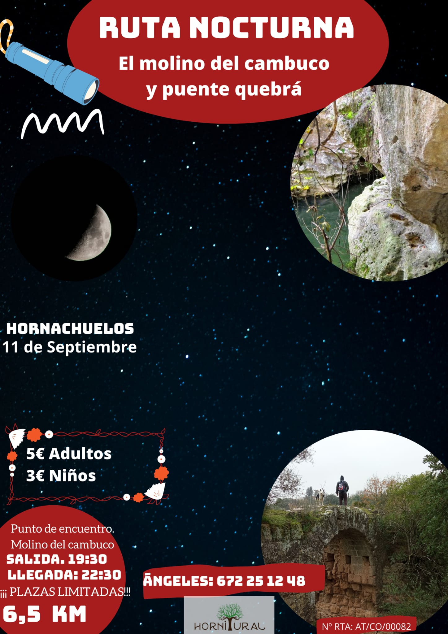 Ruta Nocturna Hornitural-Molino del Cambuco